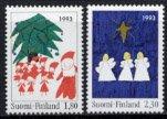 フィンランド・クリスマス・切手・1993(2)