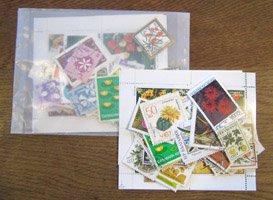 花の切手・パケット・100枚