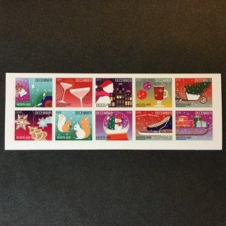 オランダ・12月切手・2016(セルフ糊)