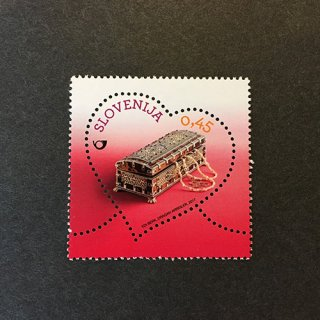 スロベニア・ラブ切手・2017