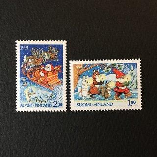 フィンランド・クリスマス・切手・1991(2)