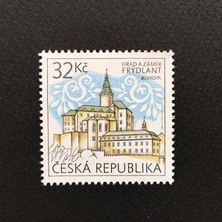 チェコ・ヨーロッパ切手・城・2017(1)