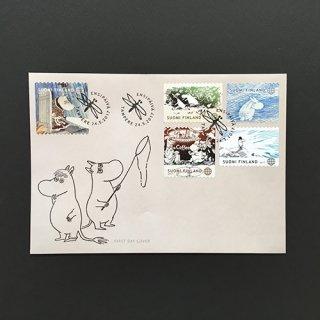 フィンランド・ムーミン切手帳・FDC・2017