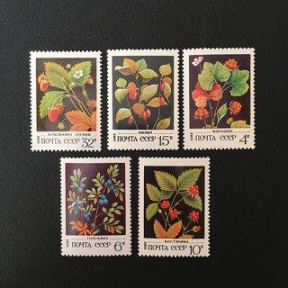 ロシア・果実・切手・1982(5)