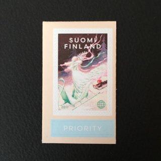 フィンランド・雪の女王・切手・2017・セルフ糊