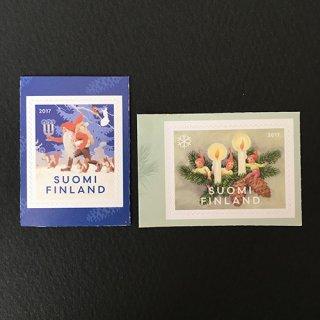 フィンランド・クリスマス切手・2017(2)セルフ糊