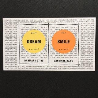 デンマークの切手・オノ・ヨーコ・デザインシート・2018