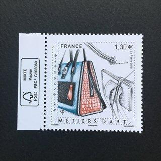 フランスの切手・工芸・皮革製品・2018