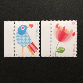 オーストラリアの切手・グリーティング・ラブ・2018(2)
