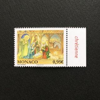 モナコの切手・クリスマス・2018