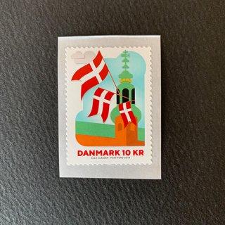デンマークの切手・国旗800年・2019