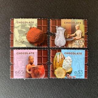 ポルトガルの切手・チョコレート・2019(4)