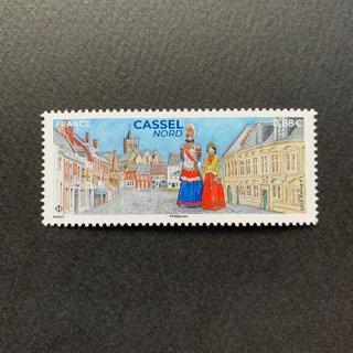 フランスの切手・カッセル・2019