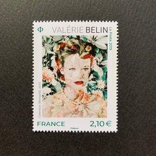 フランスの切手・美術シリーズ・バレリーベラン・2019