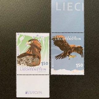 リヒテンシュタイン・ヨーロッパ切手・国鳥・2019(2)