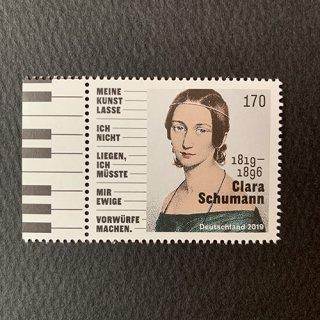 ドイツの切手・クララ・シューマン誕生200年・2019