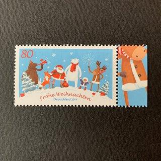 ドイツの切手・クリスマス・2019