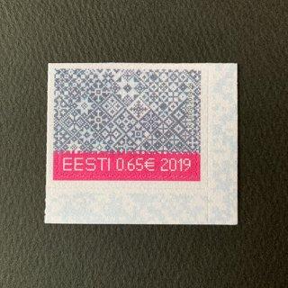 エストニアの切手・クリスマス・2019(セルフ糊)