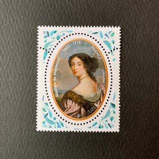 フランスの切手・マノントン夫人・2019(セルフ糊)