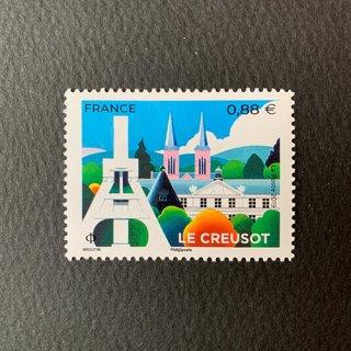 フランスの切手・ル・クルーゾ・2019