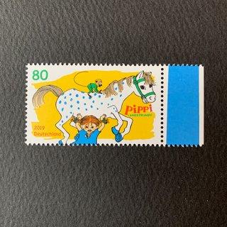 ドイツの切手・長くつ下のピッピ・2019