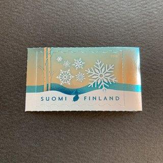 フィンランド・雪の結晶・2019・セルフ糊