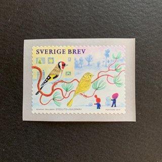 スウェーデンの切手・クリスマス・2019(セルフ糊)