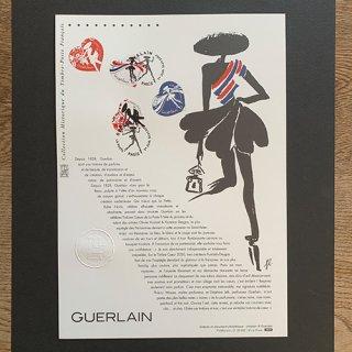 フランスの切手・バレンタイン・ゲラン・ドキュマン・2020