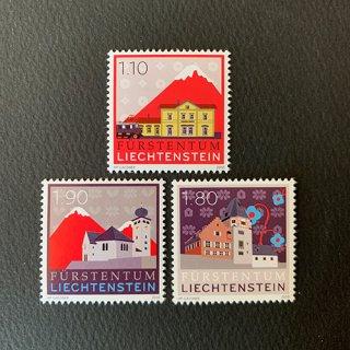 リヒテンシュタインの切手・3次セット・2010(3)
