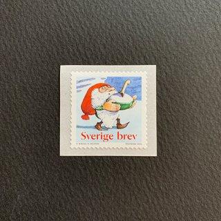 スウェーデンの切手・クリスマス・2016・セルフ糊