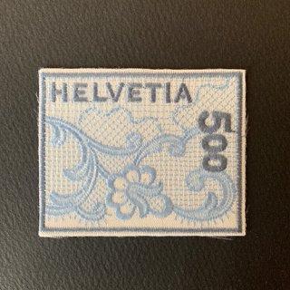 スイス・刺繍切手・ザンクトガレン・2000(セルフ糊)
