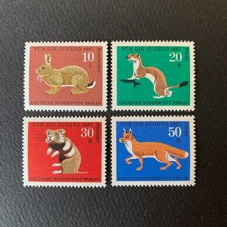 ドイツの切手・青少年福祉・1967(4)