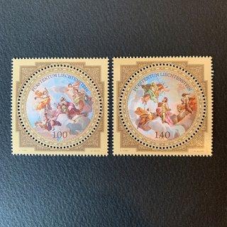 リヒテンシュタインの切手・美術館の工芸品2次・2010(2)