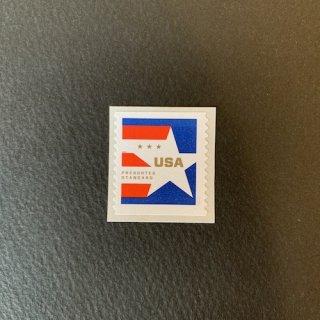 アメリカの切手・星条旗コイル・2020(セルフ糊)