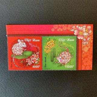 ベトナムの切手・年賀子年・2019