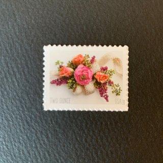 アメリカの切手・コサージュ・2020(セルフ糊)