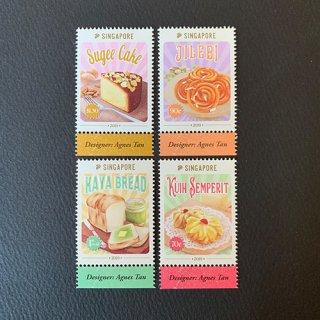 シンガポールの切手・伝統菓子・2019(4)