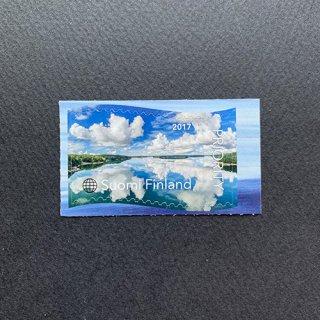 フィンランドの切手・列島の雲・2020(セルフ糊)