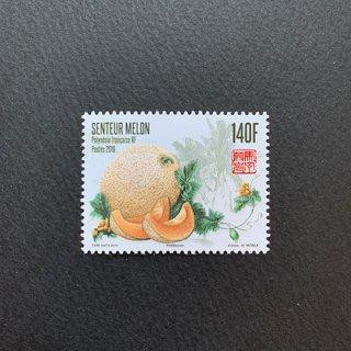仏領ポリネシアの切手・メロン・2019