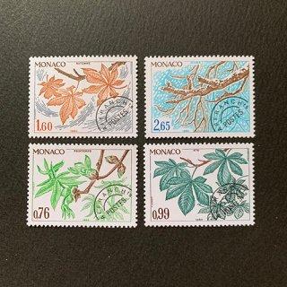 モナコ・プリキャンセル切手・1980(4)