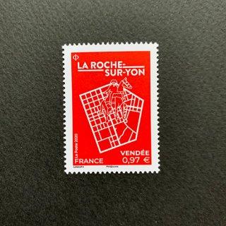 フランスの切手・ラロッシュ・シュル・ヨン・2020