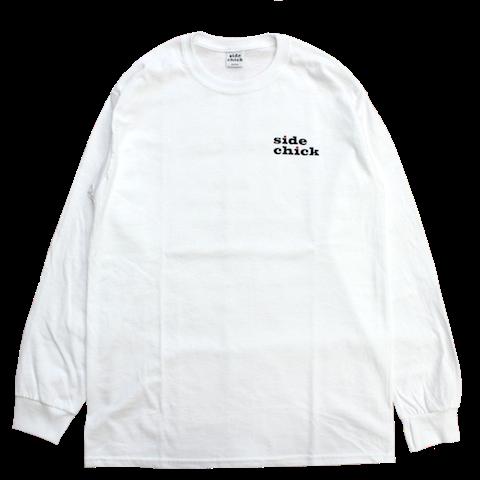 SIDECHICK【サイドチック】OUI LOGO L/STEE /WHITE