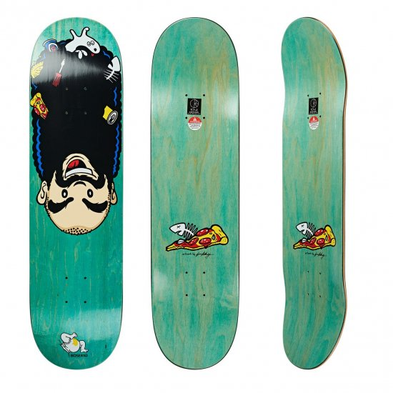 <img class='new_mark_img1' src='https://img.shop-pro.jp/img/new/icons5.gif' style='border:none;display:inline;margin:0px;padding:0px;width:auto;' />POLAR SKATE CO.【ポーラー】Up side dawn / Nick Boserio / 8