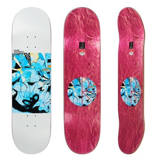 <img class='new_mark_img1' src='https://img.shop-pro.jp/img/new/icons5.gif' style='border:none;display:inline;margin:0px;padding:0px;width:auto;' />POLAR SKATE CO.【ポーラー】Oskar Rozenberg / ESCAPE ROUTE /8.25