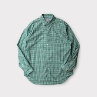 Grooming Shirts  Green-Gingham