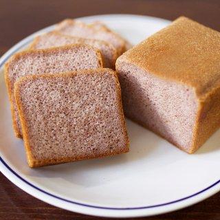 グルテンフリー米粉パン  富山県産 赤米(古代米)食パン