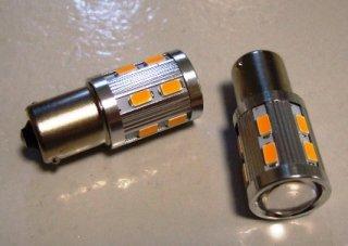 高輝度プロジェクター LEDウインカー バルブ(オレンジ色)2個セット