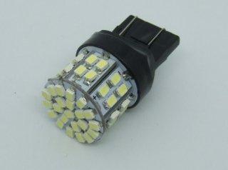 T20 ウエッジ球 50SMD LED 光拡散タイプ<白・6000K> DC12V 21/5W 置換え ダブル球