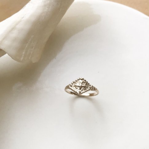 〜Old Times〜 Diamond Shape Ring K10