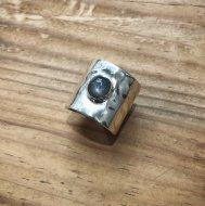 Gray Star Sapphire Flat Ring